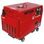 Gerador De Energia Diesel Silencioso 5kva Mdg-5000ats