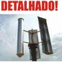 Projeto Gerador Eólico Aerogerador 1.000watts