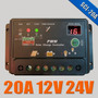 Controlador De Carga Para Painel Solar - 20 Amperes 12v