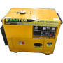 Gerador Silenciado 6 Kva Diesel - Partida Elétrica - Bratec