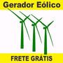 3projeto Gerador Eolico 1000w Catavento E Ventilador De Teto