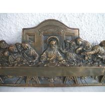 Santa Ceia Antiga - Arte Sacra Em Gesso - I M P E C A V E L!