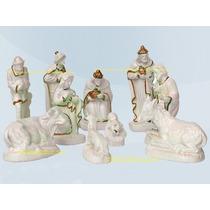 Lindo Presépio Natal 10 Esculturas De Até12cm Frete Gratis