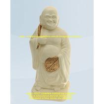 Escultura Buda Da Fortuna Linda Imagem 25cm Melhor Fabrica