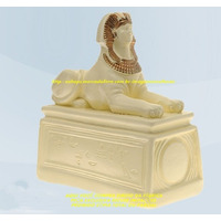 Escultura Egipicia Esfinge Linda Imagem 20cm Preço Fabrica