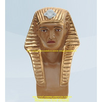 Escultura Egipicia Faraó Linda Imagem 20cm Preço Fabrica