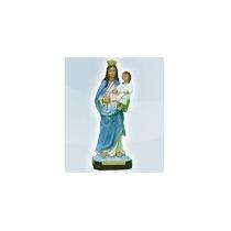 Nossa Senhora Do Rosário Imagem 40 Cm Gesso