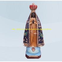 Escultura Nossa Senhora Aparecida Imagem 30cm Fabrica Ml