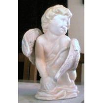 Esculturas Em Gesso De Anjos