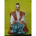 Estátua Monge - Linda Peça Decorativa