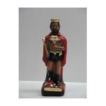 Imagem Exu Rei Da Sete Encruzilhadas Escultura Gesso Estatua