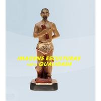 Escultura Exu Arranca Toco 20cm Linda Imagem Frete Gratis Ml