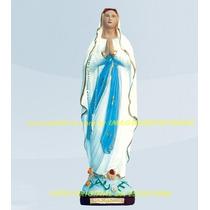 Escultura Nossa Senhora D Lourdes 60cm Linda Imagem Promoção