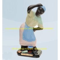 Escultura Preta Velha Maria Conga Linda Imagem 20cm Promoção