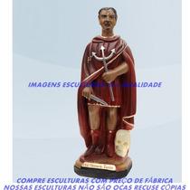 Escultura Exú Tranca Tudo Imagem 20cm Menor Preço Do Ml