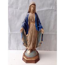 Imagem De Nossa Senhora Das Graças Em Resina 75cm