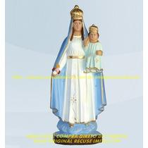 Escultura Nossa Senhora Gloria Linda Imagem 30cm Fabrica