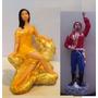 Imagem Cigana Do Ouro Sentada + Cigano Vladimir 2 Esculturas