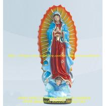 Escultura Nossa Senhora Guadalupe Linda Imagem 25cm Fabrica