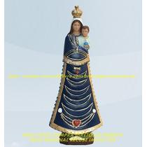 Escultura Nossa Senhora Loreto Linda Imagem 40cm Fabrica Ml