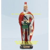 Escultura Ogum De Ronda 20cm Linda Imagem Melhor Preço Ml