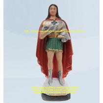 Escultura Ogum Sete Ondas Linda Imagem 40cm Promoção No Ml