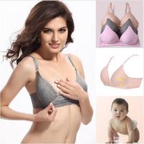 Sutiã Amamentação Baby C/ Abertura Frontal Superconfortável