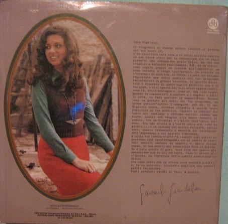 Gigliola Cinquetti - Cantando Con Gli Amici - 1971 Importado