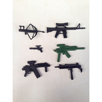 Lote De Armas Personagens Comandos Em Ação Gi Joe Estrela