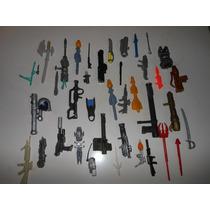 Miniaturas De Armas E Acessórios Para Bonecos Lote Com 39