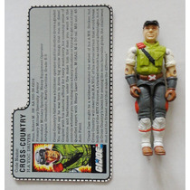 Gi Joe Cross-country Gi Joe 1986 100% Completo + Filecard
