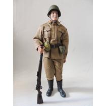 Soldado Soviético - 2ª Guerra Mundial - Tipo Falcon (sa 7)