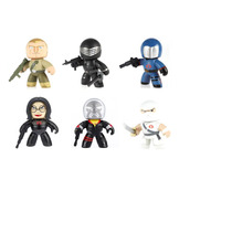 Mighty Muggs Gi Joe Baroness Cobra Duke Snake Destro Storm