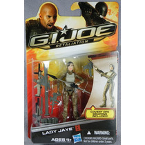 Gi Joe Retaliation Lady Jaye - Brinquetoys