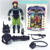 1988 Sneak Peek V2 Night Force Boneco Comandos Em Acao Gijoe