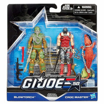 Gi Joe 50th Blowtorch E Croc Master - Brinquetoys