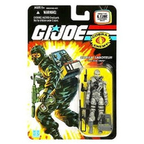Gi Joe 25th Firefly Cobra Saboteur Wave 3