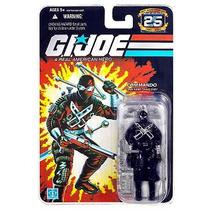 Gi Joe 25th Snake Eyes Commando Wave 7