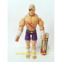 Boneco Gi Joe Street Fighter Sagat Hasbro 1993 10 Cm