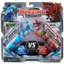 Monsuno Combate Core 2 Peças Quickforce Spiderwolf Long Jump