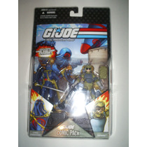 Gi Joe 25th Comic Pack Cobra Commander/tripwire(lacrado)