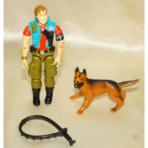 Gi Joe Boneco Law & Order Soldado Dog - Hasbro 1987