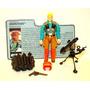 # Boneco Downtown C/ File Card Gi.joe Hasbro 1989