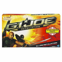 Gi Joe Retaliation Premiere 4 Pack Hasbro - Snake Eye +3