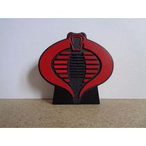 Gi Joe 25th Logo Cobra Toca Música Do Desenho - Brinquetoys