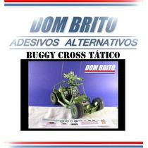 Adesivos Para Buggy Cross Tático Comandos Em Ação.