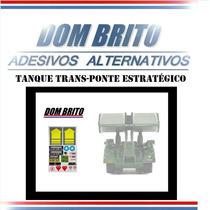 Adesivos P/ Tanque Trans-ponte Estratégico Comandos Em Ação