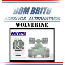 Adesivos Para Gi Joe Wolverine (lança Foguetes Americano)