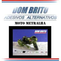 Adesivos Para Moto Metralha Comandos Em Ação