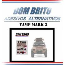 Adesivos Para Vamp Mark 2 (blindado De Assalto Americano)